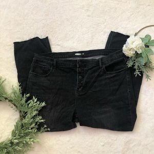 Old Navy Button Fly Flare Jeans